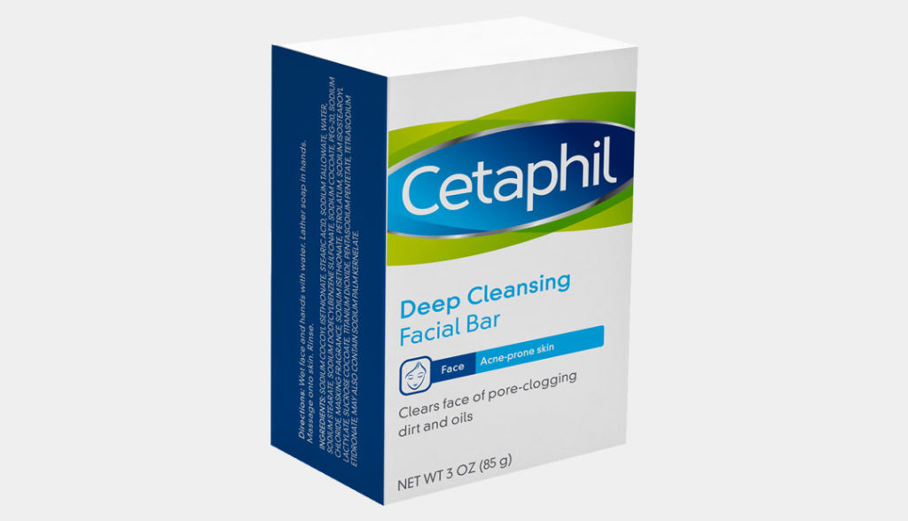 Cetaphil antibacterial bar soap